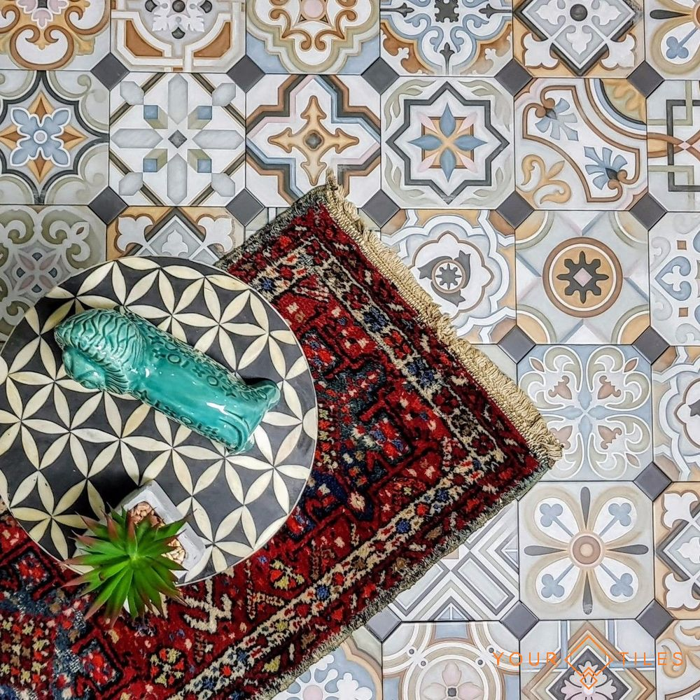 Morrocan & Victorian Tiles