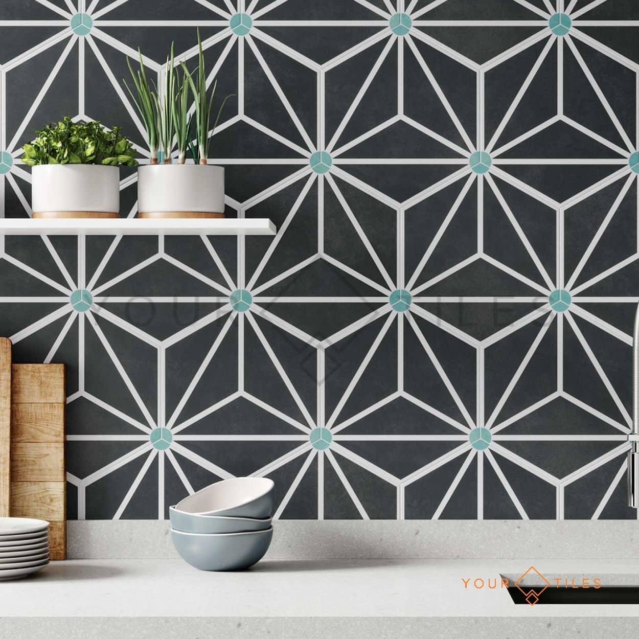 Jasmine Hexagon Collection