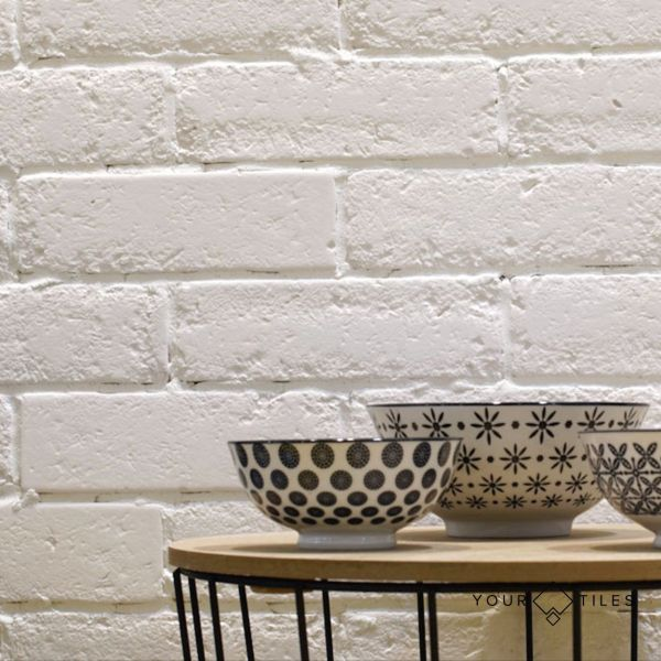 Browse Mineral Matt White Brick Wall Tiles 6 2cm X 20cm Tiles At Discounted Price Yourtiles